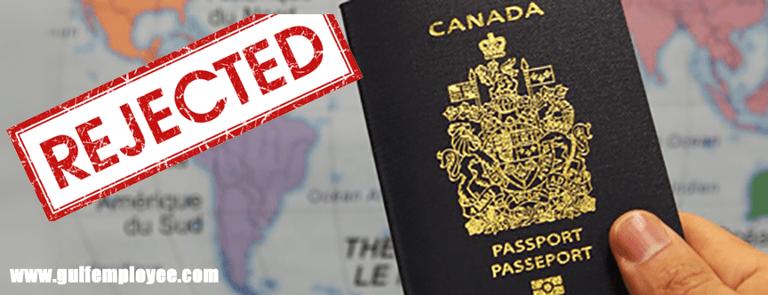 Common Reasons for Canada visa Rejection