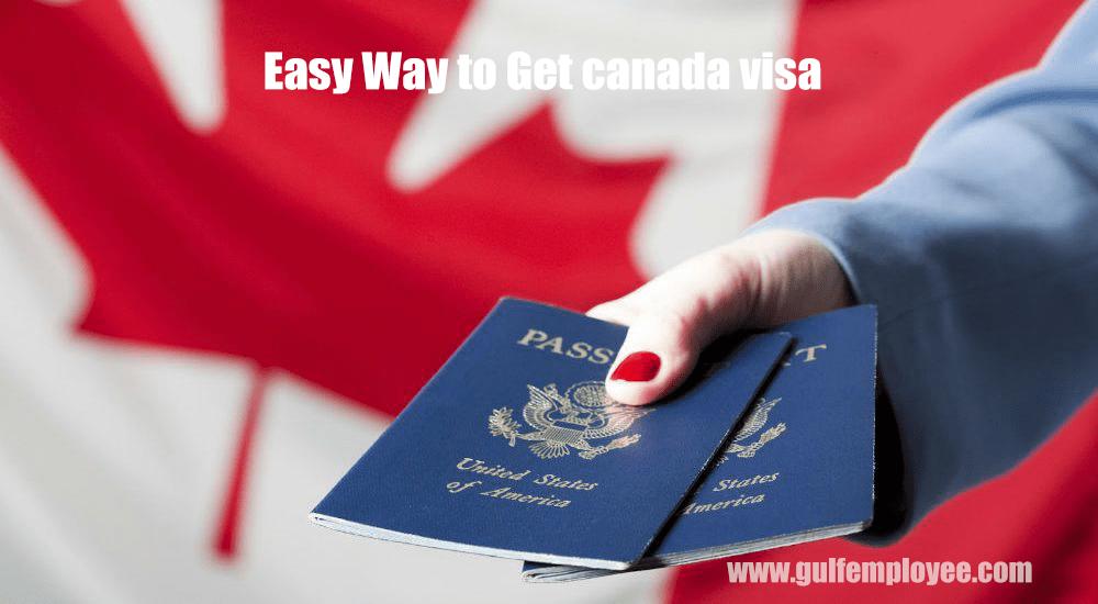 easy way to get canada visa