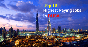 Top High Paying Jobs in Dubai