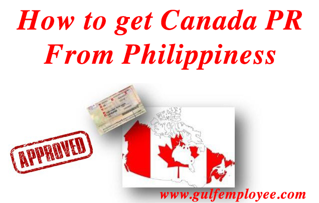 how to get canada PR from Philippines