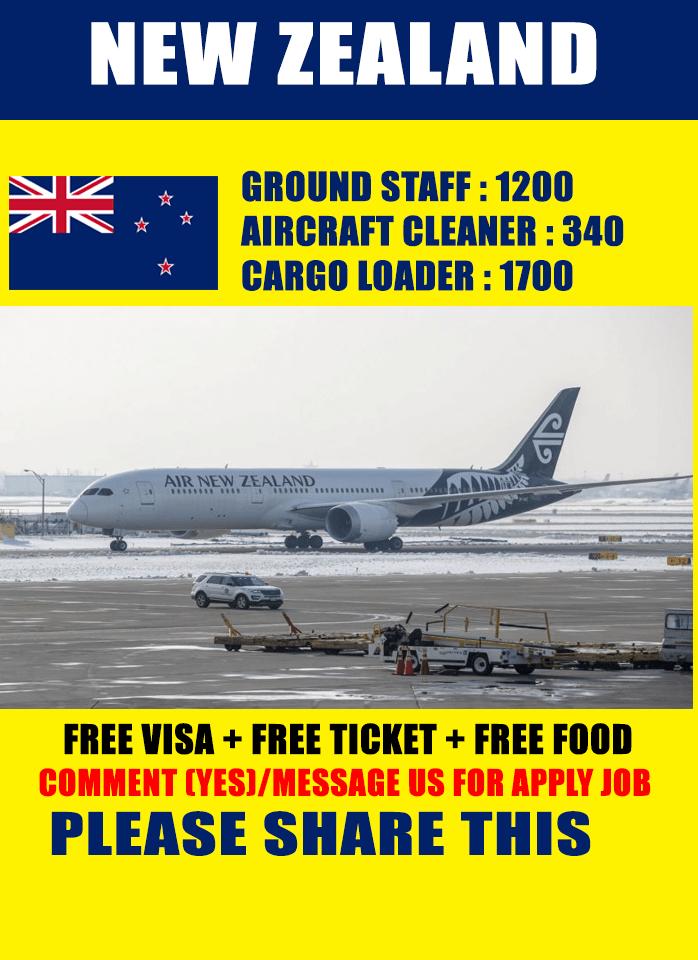 Job in New Zealand - Canada Hiring Job in New Zealand