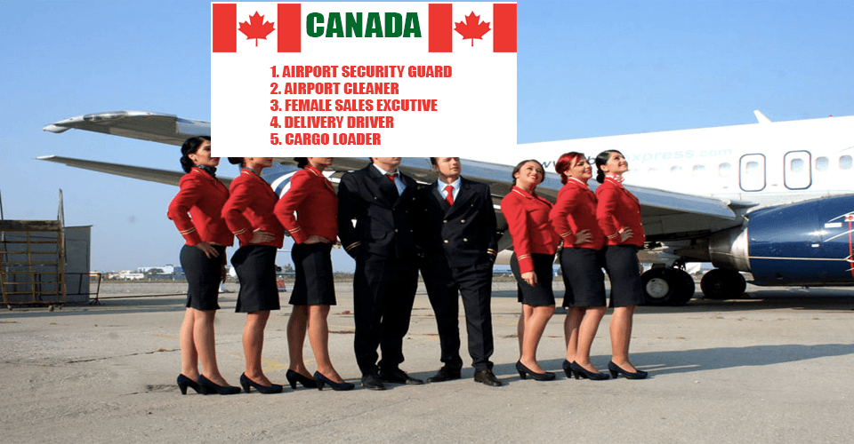 Job in Canada airport