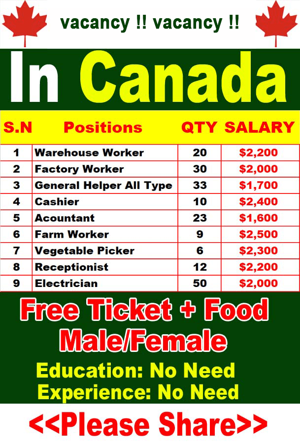 job in Canada government 2020