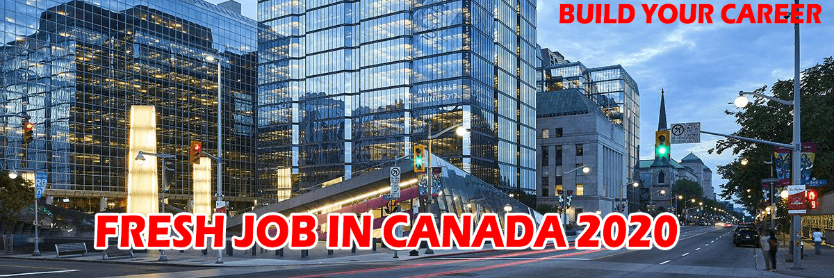 Fresh Job in Canada 2020