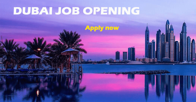 Urgent Job Opening in Dubai