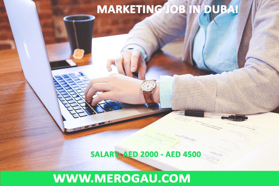 Marketing Jobs in Dubai