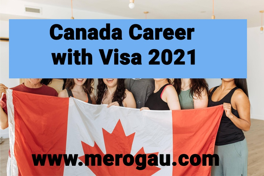 Canada career with Visa 2021