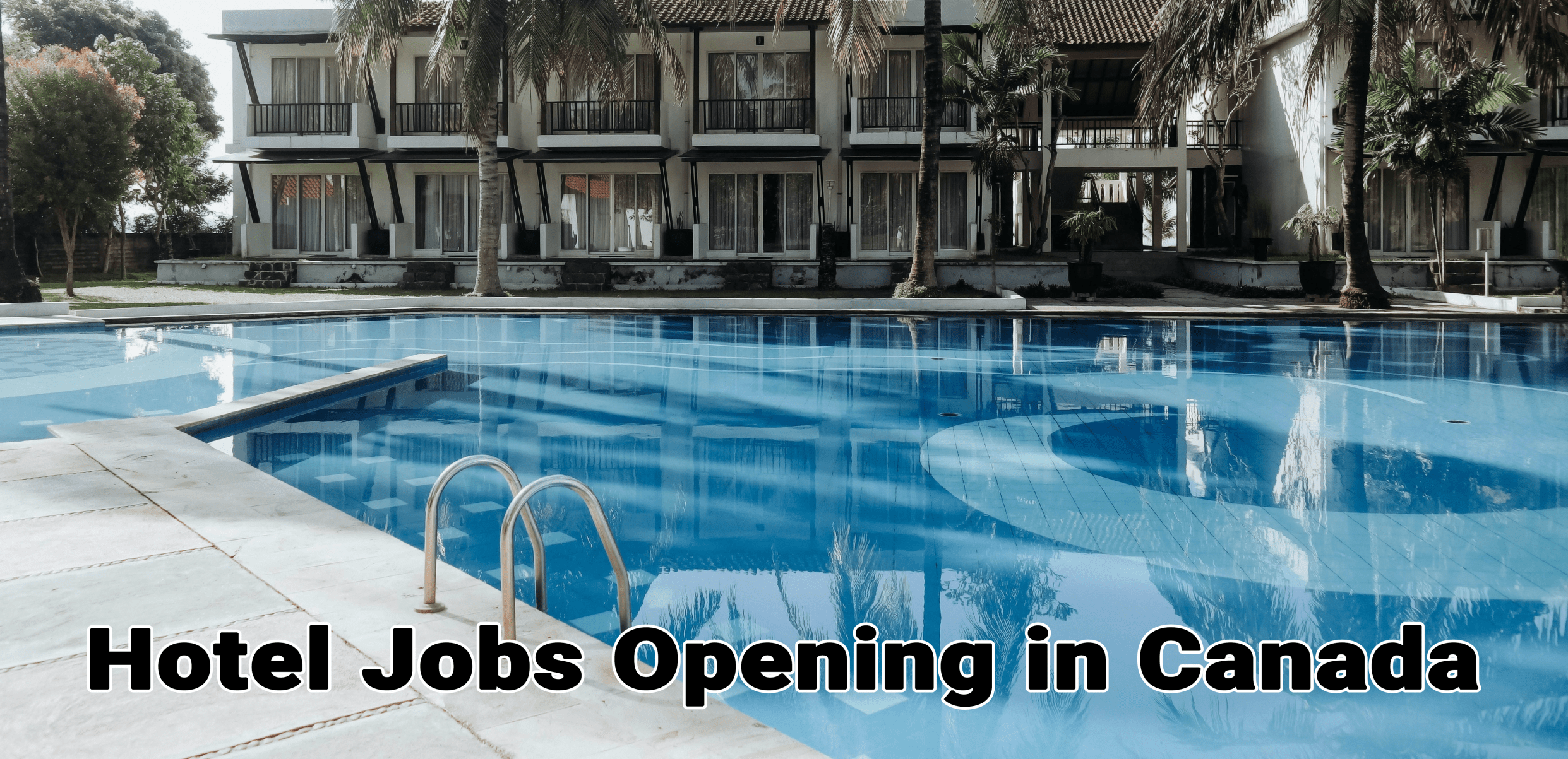 Hotel Jobs Opening in Canada